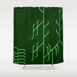 2015:  Reason Shower Curtain
