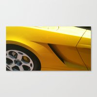 lamborghini Canvas Prints featuring Lamborghini by Amy K. Nichols
