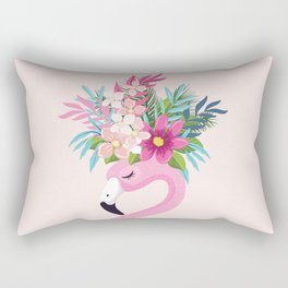 Lovely Flamingo. Rectangular Pillow