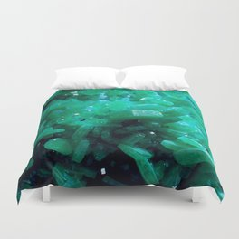 Aragonite Teal Duvet Cover