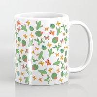 cactus Mugs featuring Cactus by Kakel