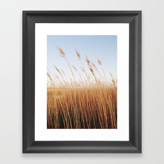 Refuge Sunset Framed Art Print