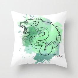 Typhon Challenger Throw Pillow