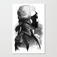 bdsm Canvas Prints featuring BDSM XXXI by DIVIDUS