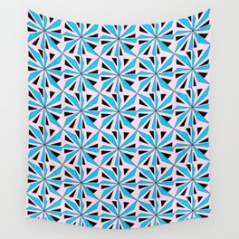 symetric patterns 86-mandala,geometric,rosace,harmony,star,symmetry Wall Tapestry