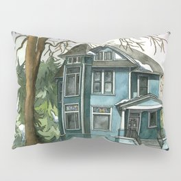 The House Under the Big Tree Pillow Sham
