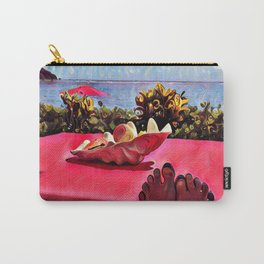 Island Paradise Vacation Carry-All Pouch