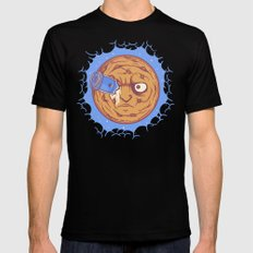 Trip To The Cookie MEDIUM Mens Fitted Tee Black