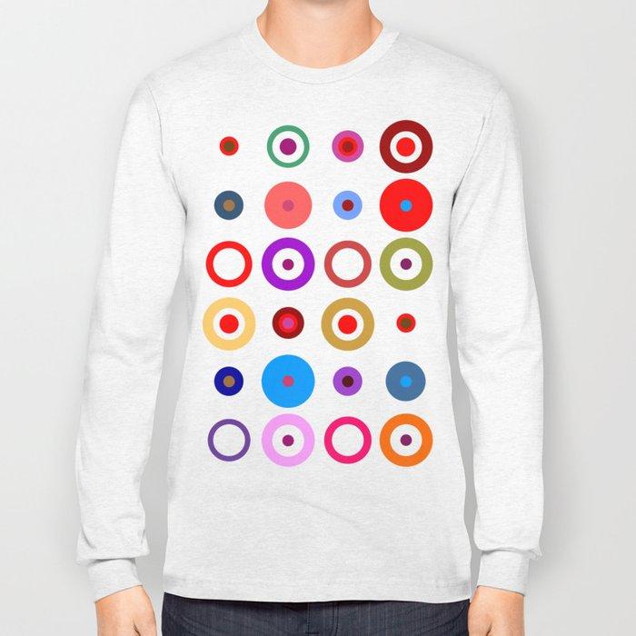 Op Art #7 Long Sleeve T-shirt