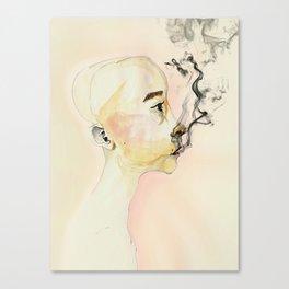The creature Canvas Print