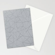 Ab Linea Grey Stationery Cards