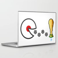 world cup Laptop & iPad Skins featuring Japan World Cup 2014 by onejyoo