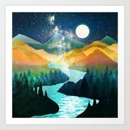 Under the Starlight Art Print