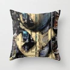 Compartmentality Throw Pillow