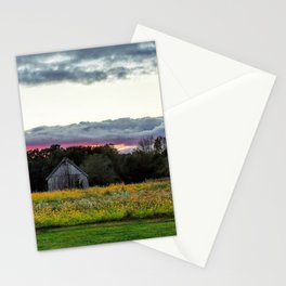 Colorful Barn Stationery Cards