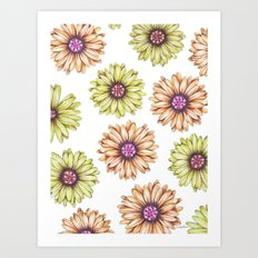 Fun With Daisy- In memory of Mackenzie Art Print