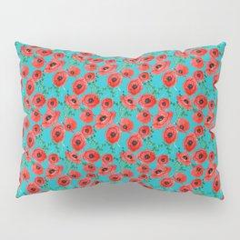 Bright Poppies Pillow Sham