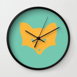 Inner Fox Wall Clock