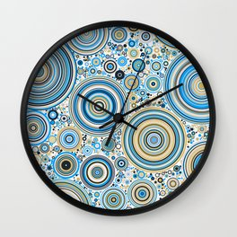 Rings 2 Wall Clock