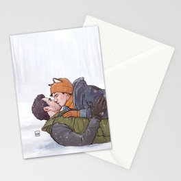 Winter Smooches Stationery Cards