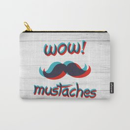 WOW mustaches Carry-All Pouch