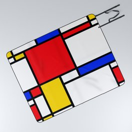 Mondrian Picnic Blanket
