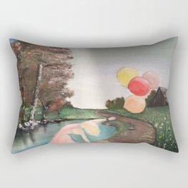 Balloon Dance Rectangular Pillow