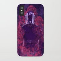 police iPhone & iPod Cases featuring Karma Police by victor calahan