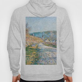 """Claude Monet """"The Road to Vétheuil"""" (1879) Hoody"""