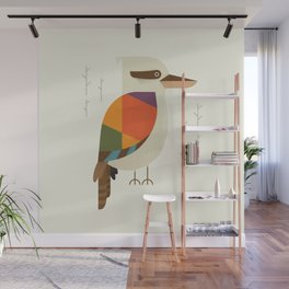 Laughing Kookaburra Wall Mural