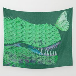 The Gentle Dinosaur Wall Tapestry