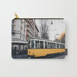 Tram in Milan Carry-All Pouch