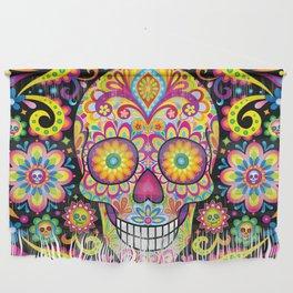 Sugar Skull Art (Spark) Wall Hanging