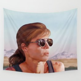 Sarah Connor Wall Tapestry