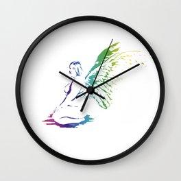 the 6th angel ( Johanna) Wall Clock