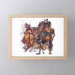 seam imaginations No.2 Framed Mini Art Print
