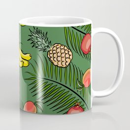 Tropical fruits pattern Coffee Mug