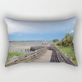 Riverview Park #1 Rectangular Pillow