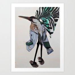 The Bird 1 Art Print