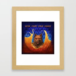 Beast Alterations - Rise From Your Grave Framed Art Print