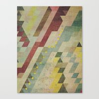 barcelona Canvas Prints featuring barcelona by Laura Moctezuma