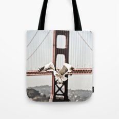 BAY GULLS Tote Bag