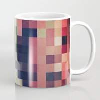 quilt Mugs featuring quilt n2 by spinL