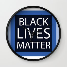 Black Lives Matter gifts Wall Clock
