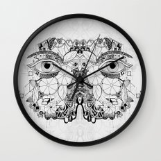 Volví al jardín Wall Clock