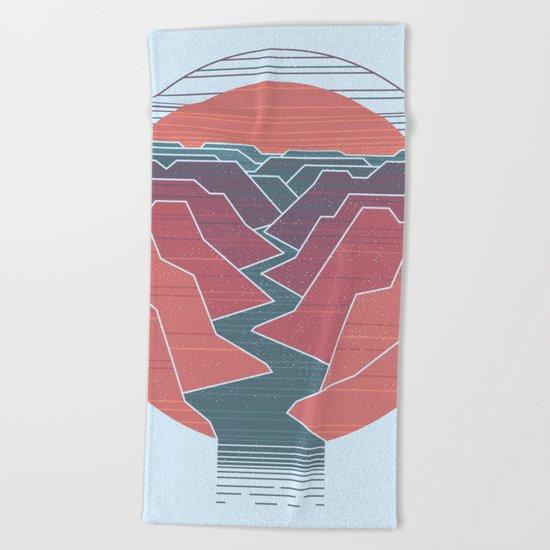 Canyon River Beach Towel