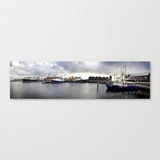 Fremantle Marina Canvas Print
