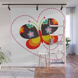 Gipsy Butterfly Wall Mural