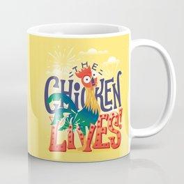 The Chicken Lives Coffee Mug
