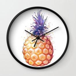 Fat Pineapple 3 Wall Clock